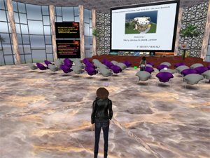 Conferencing in Second Life: A Newbie's POV, Deb Owens Counseling, Chestnut Hill, PA